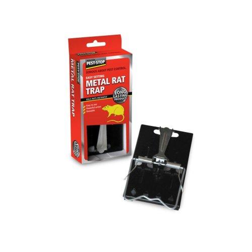 Pest Stop Easy Set Metal Rat Trap