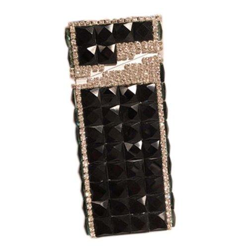 Stylish Luxury Rhinestone Small Cigarette Holder Case Great Gift for Girlfriend, B