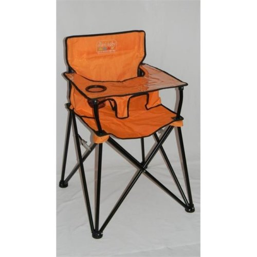 Jamberly HB2002 Ciao! Baby Portable Highchair - Orange