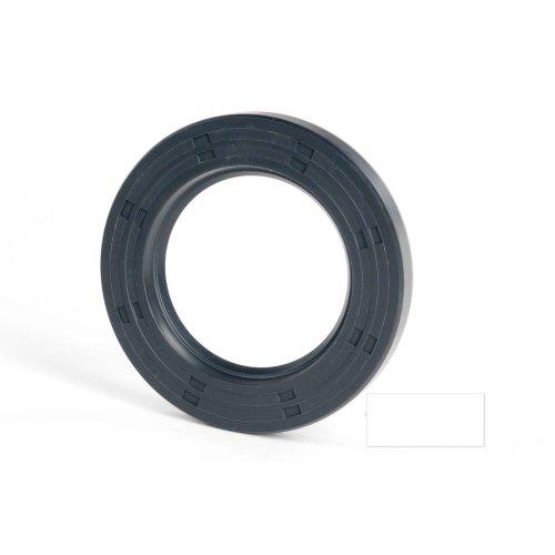 6x12x5mm Oil Seal Nitrile R21 Single Lip Springless 10 Pack