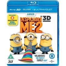 Despicable Me 2 3d (includes 2d Blu-ray and Ultraviolet Copy)