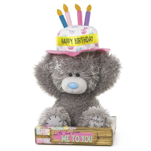Me To You Tatty Teddy In Happy Birthday Cake Hat On OnBuy