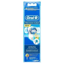 Oral-B PrecisionClean Electric Toothbrush Replacement Heads Powered Braun 2 Pack