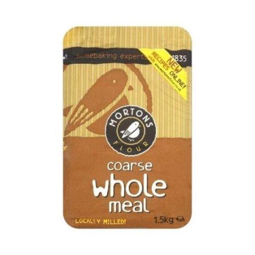 Mortons Coarse Wholemeal Flour (10 x 15kg)