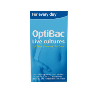 OptiBac Probiotics 'For every day', Pack of 90 Capsules