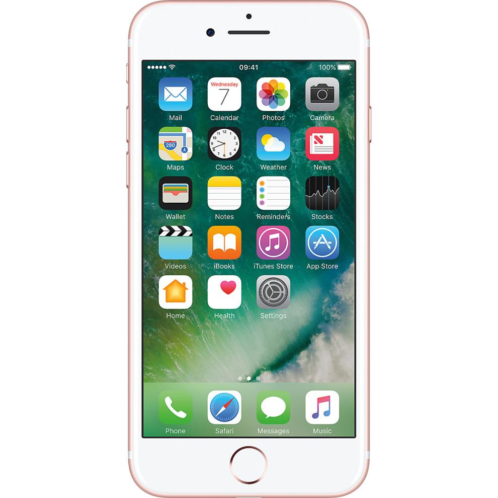 Three, 32GB Apple iPhone 7 - Rose Gold