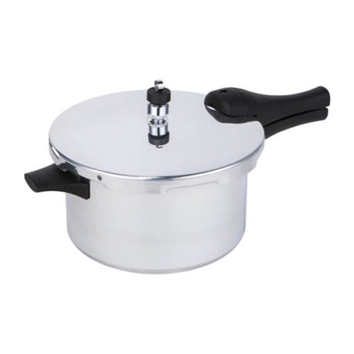 Prestige 47287 Pressure Cooker 4L Aluminium - Induction hob Suitable Base - 15lbs PSI, Silver