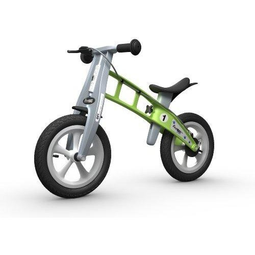 Firstbike Street Bike With Brake, Green