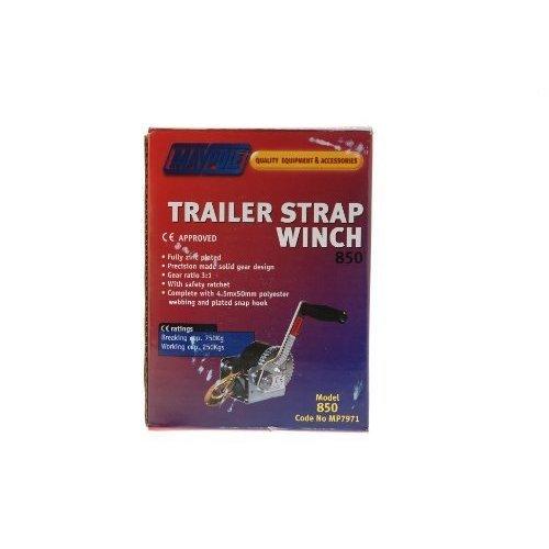 Handwinch - 250kg Strapwinch - Winch Strap Maypole Hand Trailer 7971 Mp7971 -  winch strap 250kg maypole hand trailer 7971 mp7971