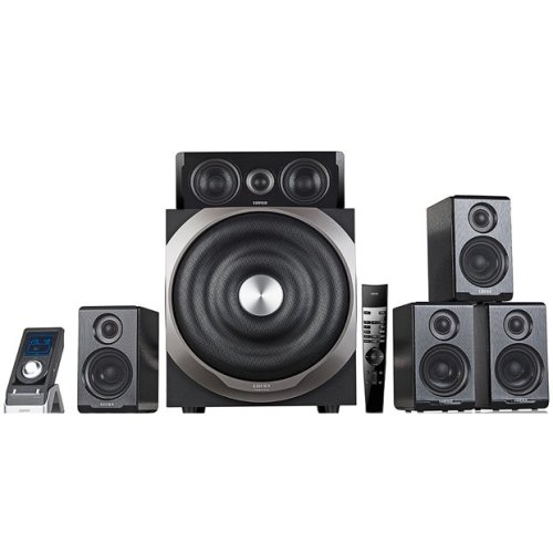 Edifier S760D 5.1channels 540W Black speaker set