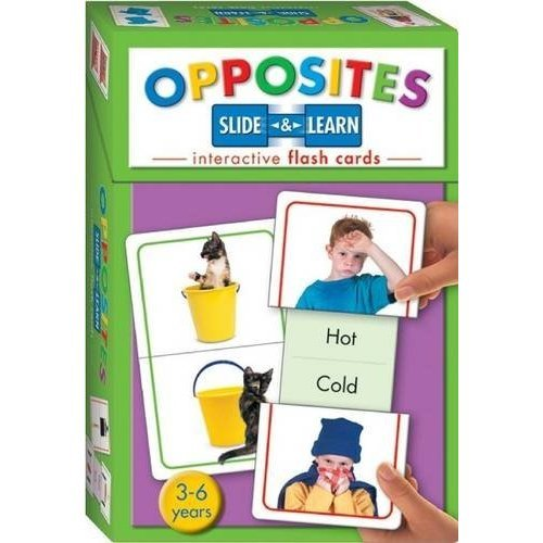 Opposites (Slide and Learn Flash Cards)