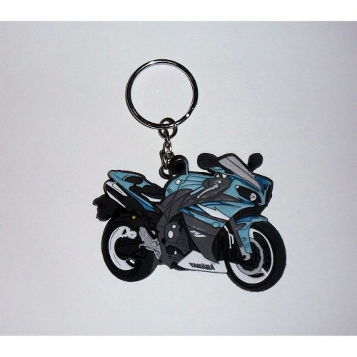 Yamaha YZF-R1 09-10 rubber key ring motor bike cycle gift chain