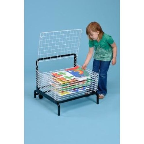 10 Shelf Spring Loaded Art Drying Rack (A1166)