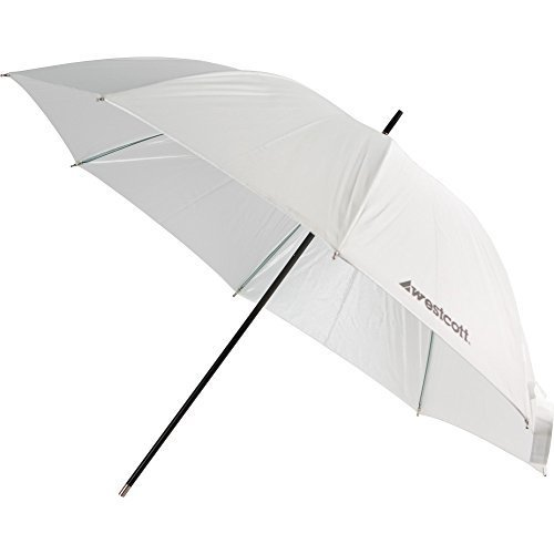 Westcott 2003 32 Inch Optical White Satin Umbrella