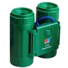 Children High Definition Telescope Binocular Portable Scientific Toys Army green