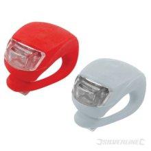 Silverline LED Clip-on Lights Set 2pce 2pce - Clipon 2pk 752082 Pack -  led lights silverline clipon 2pk 752082 pack