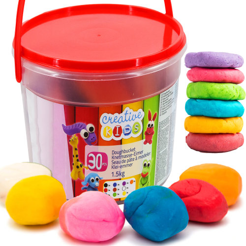 1.5 Kg Giant Dough Play Set in a Bucket