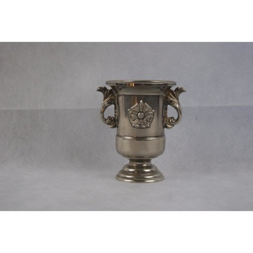 Antique Silver Plated Rose Vase REG DES NO 945535