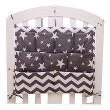 Cartoon Star Baby Bedside Multilayer Pouch Storage Bag Diaper Bag