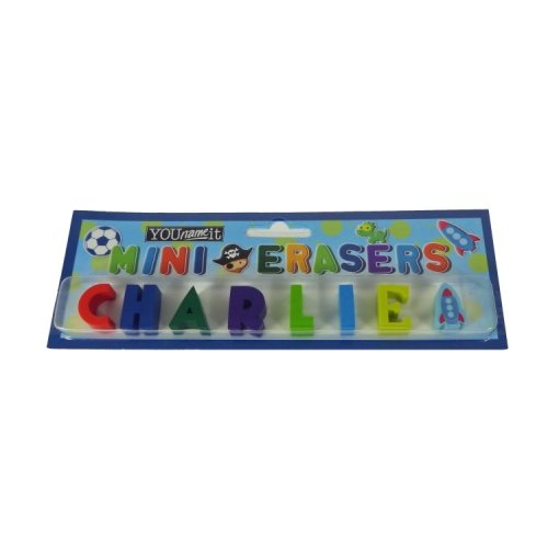 Childrens Mini Erasers - Charlie
