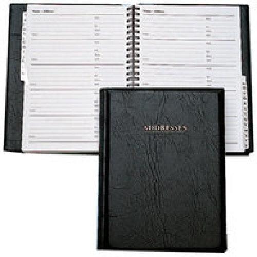 Collins Business Address Book Black personal organizer