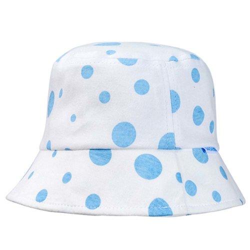 Blue Dots Sun-resistant Pure Cotton Comfortable Ventilate Baby Cap Infant  Hat e3491c69c54c
