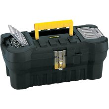"Rimax Heavy Duty Box -16""X7.25""X8"" Black & Yellow"