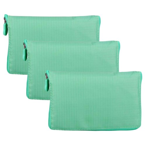 Green - 3 Pieces Reusable Grocery Bags Portable Boutique Shopping Bags Foldable Tote Bags for Grocery Shopping