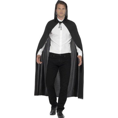 Black Hooded Vampire Cape