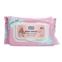 Pretty Cherubs 70 Baby Wipes