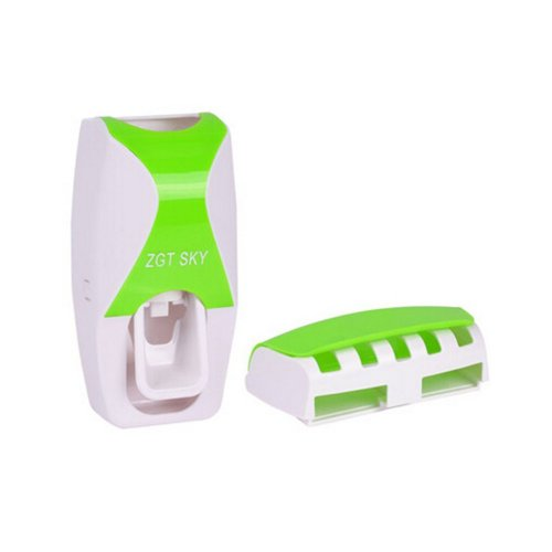 Creative Fashion Toothpaste Dispenser Automatic Toothpaste Squeezer GREEN