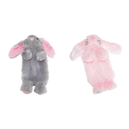 Slumberzzz Kids/Childrens Rabbit Hot Water Bottle And Cover