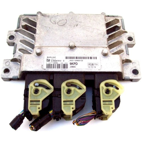 Ford Fiesta MK8 2010 Engine ECU S180047012 D + AV21-12A650-CD