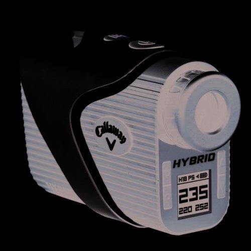 Callaway Golf Hybrid 2 in 1 Laser-GPS Golf Range Finder
