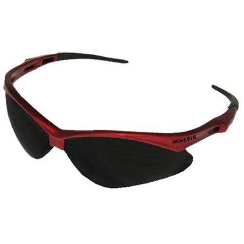 e874d05760ae #19639 Light Blue Lens NEW Nemesis Safety Glasses Black Frame
