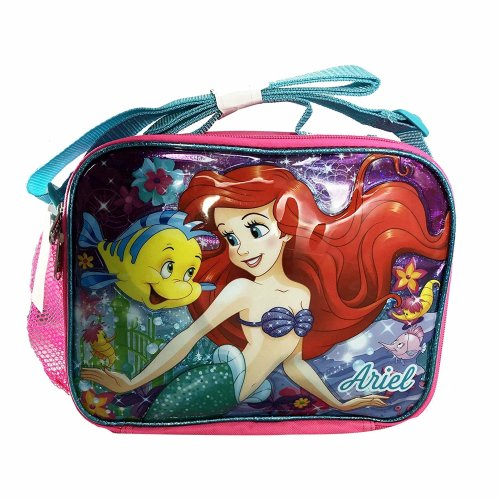 Lunch Bag - Little Mermaid - Ariel Pink Kit Case New 005009-2