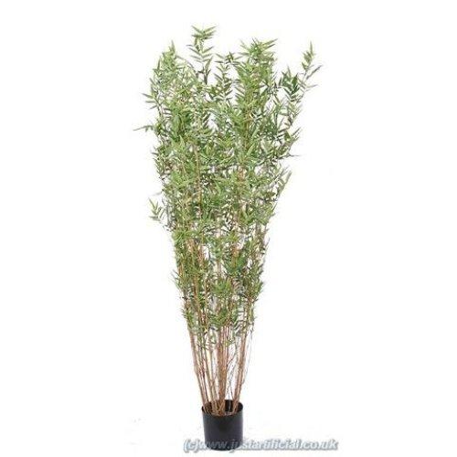 Artificial Silk Bamboo Oriental Multi Tree - 150cm, Green