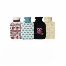 Mistry Knitted Cover Hwb -  hot water bottle knitted pattern cover various designes 15 litr