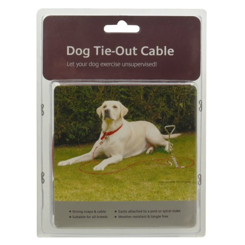 Dog Tie-out Cable 15'