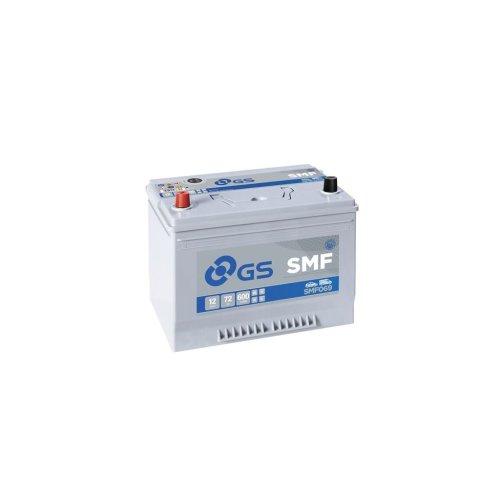 SMF Conventional Battery 12V - 72Ah - 600CCA