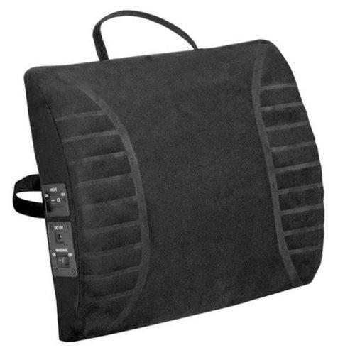 Comfort Products 60-2802MR05 Massage Lumbar Cushion with Heat