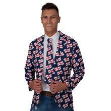 England Jacket & Tie