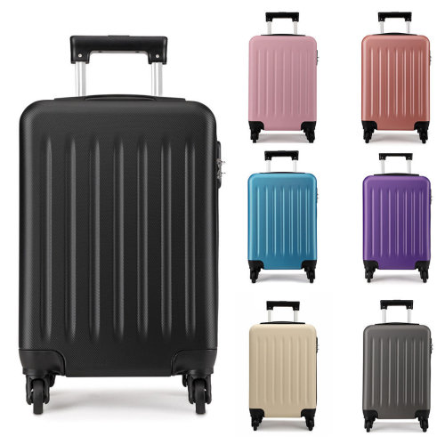 KONO Luggage Suitcase Travel Bag Hard Shell ABS 4 Wheels Spinner 28 Inch