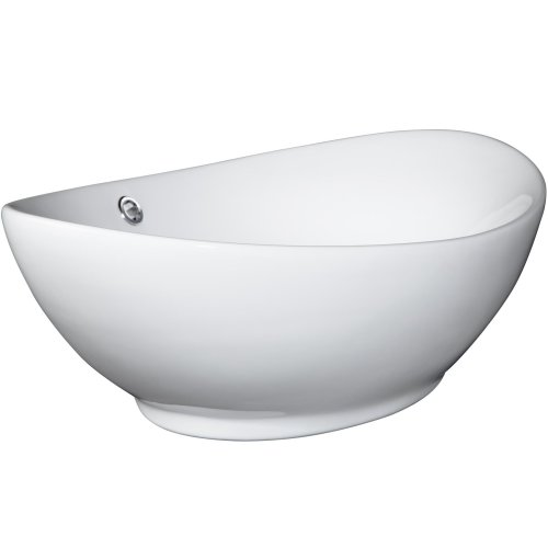 Top piece washbasin ceramic