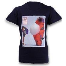 Big Hero 6 Baymax T Shirt - Navy