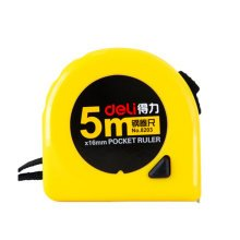 Tape Measure with End Hook, Metric,5m/16 Ft