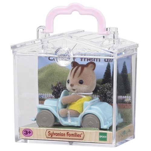 Baby Carry Case Squirrel On Car