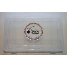 Bertie's Bows Deluxe Organiser Box - 18 Compartments With Rounded Bottoms