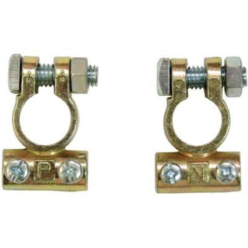 Pair Of Battery Terminals - Clamps Carded Swbat29 Connector 12v Van Boat -  battery pair terminals clamps carded swbat29 connector 12v van boat