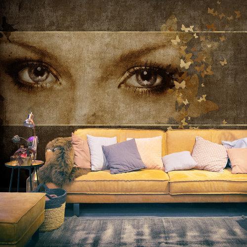 Wallpaper - Woman and butterflies